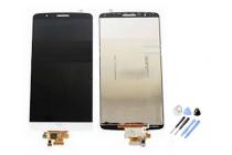 Lcd-жк-сенсорный дисплей-экран-стекло с тачскрином на телефон lg g3 s mini d724/d722 белый + гарантия