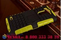 Противоударный усиленный ударопрочный чехол-бампер-пенал для lg g3 s mini d724/d722 зеленый
