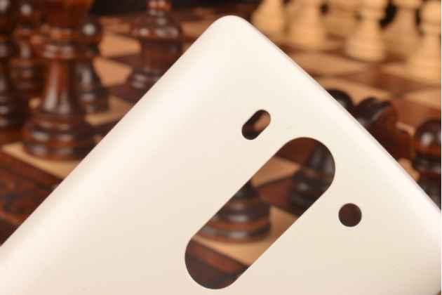 Родная задняя крышка-панель которая шла в комплекте для lg g3 s mini d724/d722 белая