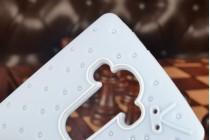 """Необычная уникальная полимерная мягкая задняя панель-чехол-накладка для lg g4 """"тематика андроид в черничном  шоколаде"""""""