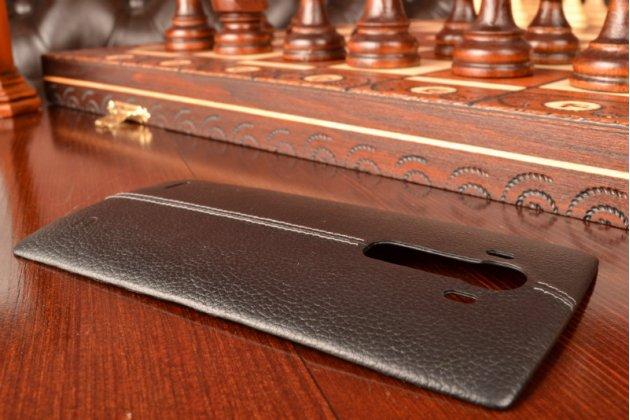 Родная задняя крышка-панель которая шла в комплекте для lg g4 черная