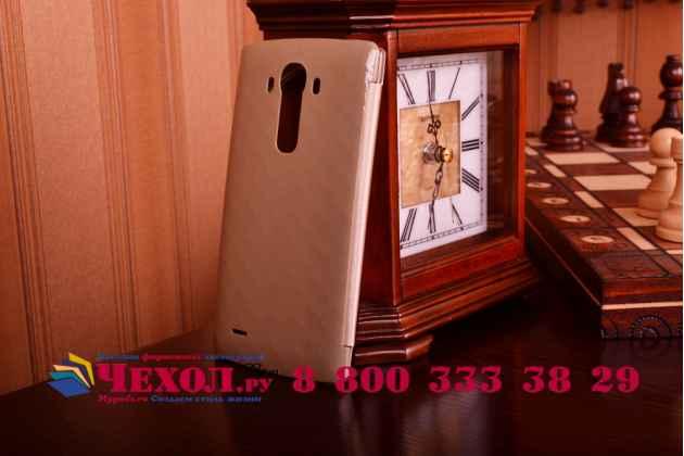 С логотипом чехол-кейс quick circle lg cfr-100c для lg g4  золотой