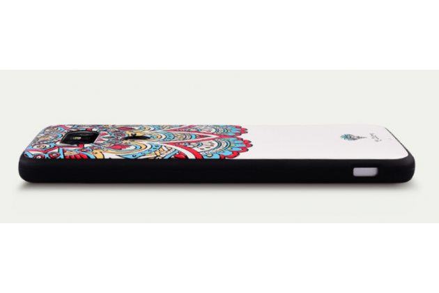 """Роскошная задняя панель-чехол-накладка из мягкого силикона с объемным  3d изображением на lg g5 se h845 / h860n / h850 5.3"""" с безумно красивым рисунком  """"тематика стильные узоры"""""""