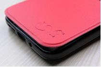 """Чехол-книжка для lg g5 se h845 / h860n / h850 5.3"""" красный с окошком для входящих вызовов водоотталкивающий"""