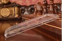 Ультра-тонкая полимерная силиконовая мягкая задняя панель-чехол-накладка для lg g5 h860n/ h850 5.3 прозрачная