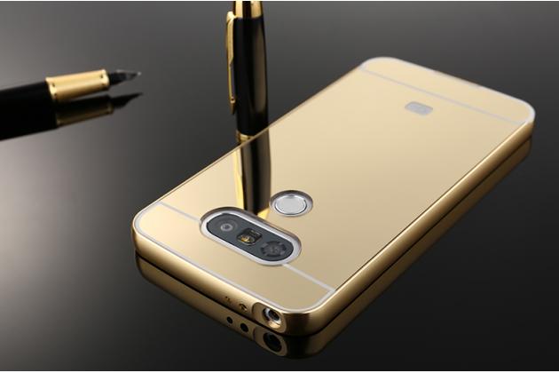 """Металлическая задняя панель-крышка-накладка из тончайшего облегченного авиационного алюминия для lg g5 se h845 / h860n / h850 5.3"""" золотая"""
