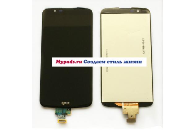 """Lcd-жк-сенсорный дисплей-экран-стекло с тачскрином на телефон lg k10 / m2 (k410 / k420n / k430n / k430 dual sim lte) 5.3""""  черный + гарантия"""
