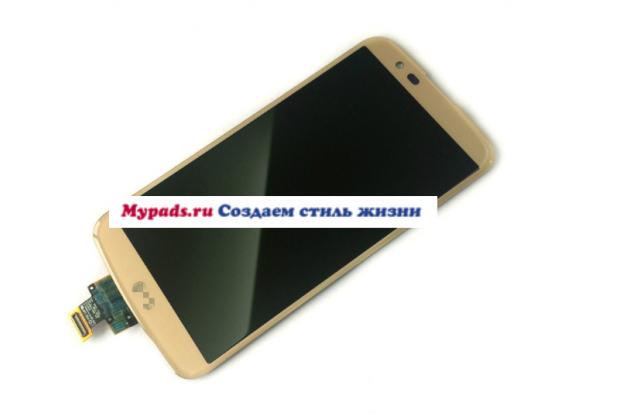 """Lcd-жк-сенсорный дисплей-экран-стекло с тачскрином на телефон lg k10 / m2 (k410 / k420n / k430n / k430 dual sim lte) 5.3""""  золотой + гарантия"""