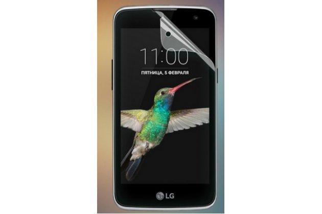 """Защитная пленка для телефона lg k4 k120e / k130e / zone 3 (vs425) 4.5"""" глянцевая"""