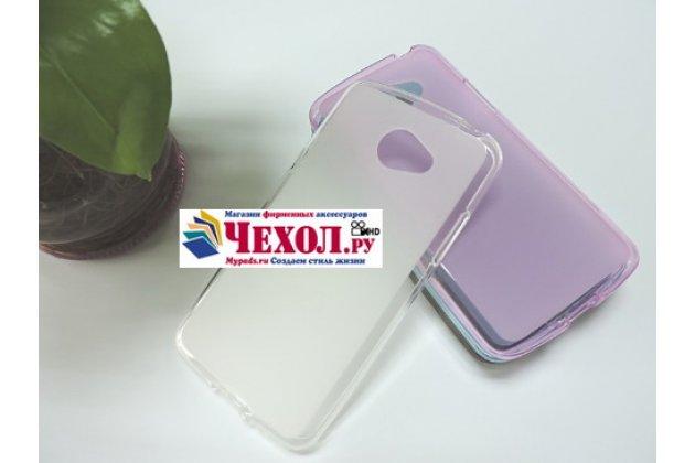 """Ультра-тонкая полимерная из мягкого качественного силикона задняя панель-чехол-накладка для lg k5 / q6 (x220ds) 5.0"""" белая"""