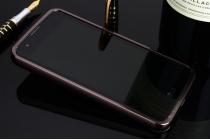 """Металлическая задняя панель-крышка-накладка из тончайшего облегченного авиационного алюминия для lg k8 k350n/ k350e 5.0"""" черная"""