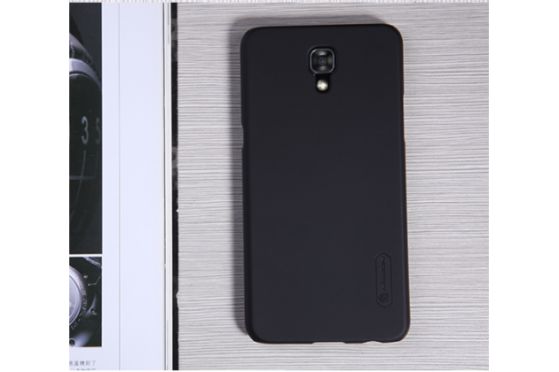 """Задняя панель-крышка-накладка из тончайшего и прочного пластика для lg x view lgk500ds / x screen k500y 4.93"""" черная"""