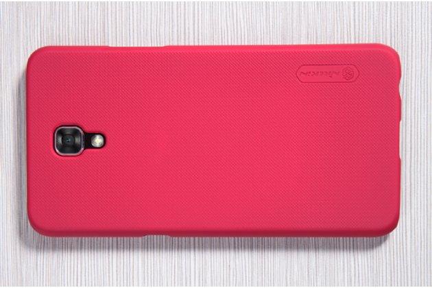 """Задняя панель-крышка-накладка из тончайшего и прочного пластика для lg x view lgk500ds / x screen k500y 4.93"""" красная"""