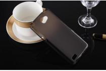 """Ультра-тонкая силиконовая задняя панель-чехол-накладка для lg bello 2/ prime 2 x155 / lg max x155 5.0""""  черная"""