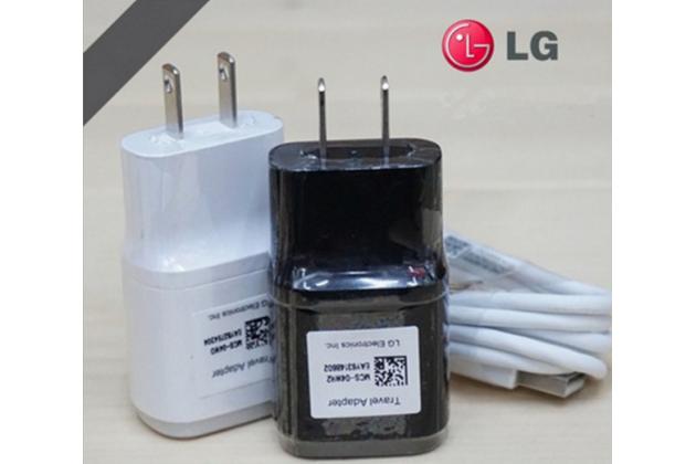 "Зарядное устройство от сети для телефона lg bello 2/ prime 2 x155 / lg max x155 5.0""  + гарантия"