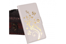 """Чехол-книжка для lg bello 2/ prime 2 x155 / lg max x155 5.0""""   с визитницей и мультиподставкой белый кожаный"""