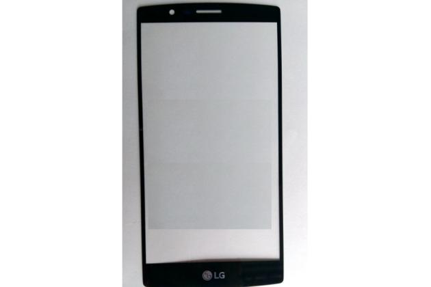 Защитное противоударное стекло которое полностью закрывает экран из качественного японского материала с олеофобным покрытием для телефона lg g4 h815 / h818 с защитой сенсорных кнопок и камеры черное