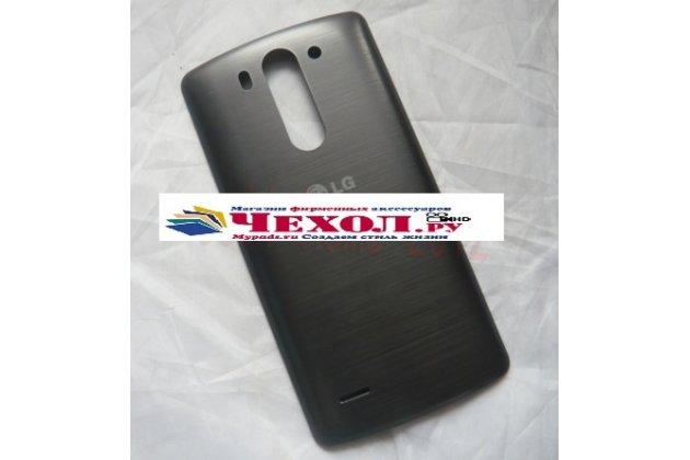 Родная задняя крышка-панель которая шла в комплекте для lg g3 s mini d724/d722  черная