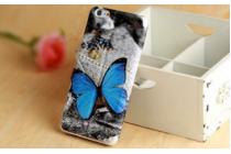 """Уникальный необычный чехол-книжка для lg g4c h525n  """"тематика влюбленные бабочка"""""""