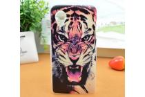 """Необычная из легчайшего и тончайшего пластика задняя панель-чехол-накладка для lg google nexus 5 d821  """"тематика тигр"""""""