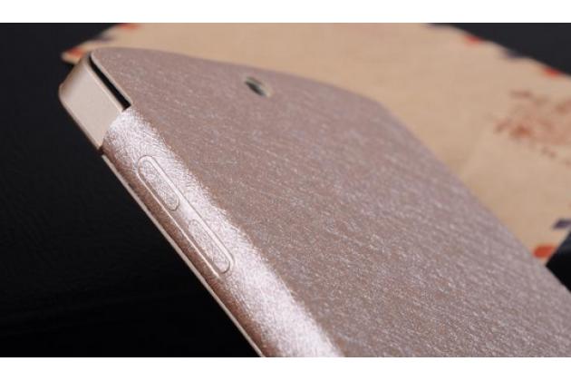 Ультра-тонкий кожаный чехол-книжкаr для lg google nexus 5 d821 золотой