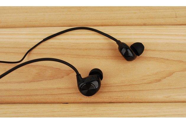 Фирменные оригинальные наушники-вкладыши leeco (letv) leuih101 с микрофоном и переключателем песен черный цвет
