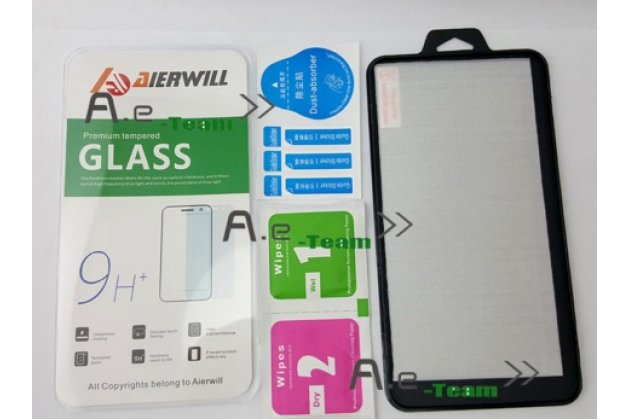 Защитное закалённое противоударное стекло премиум-класса из качественного японского материала с олеофобным покрытием для  leagoo elite 2
