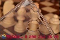 Ультра-тонкая полимерная из мягкого качественного силикона задняя панель-чехол-накладка для lenovo a2010 белая