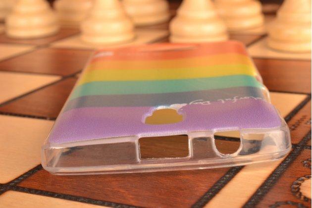 """Необычная из легчайшего и тончайшего пластика задняя панель-чехол-накладка для lenovo a2010  """"тематика краски"""""""