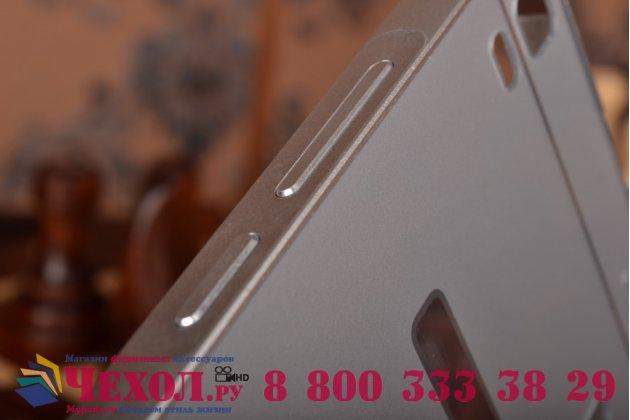 """Металлическая задняя панель-крышка-накладка из тончайшего облегченного авиационного алюминия для  lenovo k3 note / a7000 5.5"""" серебристая"""