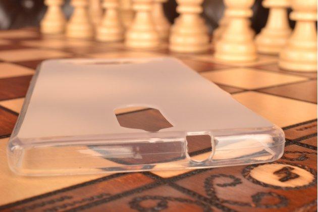 """Ультра-тонкая силиконовая задняя панель-чехол-накладка для lenovo k5 note  (k52t38 / k52e78) 5.5"""" белая"""