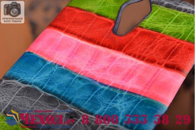 """Неповторимая экзотическая панель-крышка обтянутая кожей крокодила с фактурным тиснением для lenovo k80/p90/p90 pro тематика """"тропический коктейль"""". только в нашем магазине. количество ограничено."""
