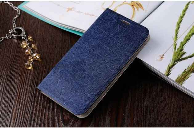 Чехол-книжка для lenovo p70/ p70-t синий  водоотталкивающий