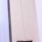 """Чехол-книжка для lenovo vibe c (a2020 / a2020a40 dual sim /a3910 ) 5.0"""" золотой с окошком для входящих вызовов водоотталкивающий"""