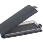 """Вертикальный откидной чехол-флип для lenovo vibe c (a2020 / a2020a40 dual sim /a3910 ) 5.0"""" черный"""