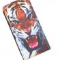 """Вертикальный откидной чехол-флип для lenovo vibe c (a2020 / a2020a40 dual sim /a3910 ) 5.0""""  """"тематика тигр"""""""