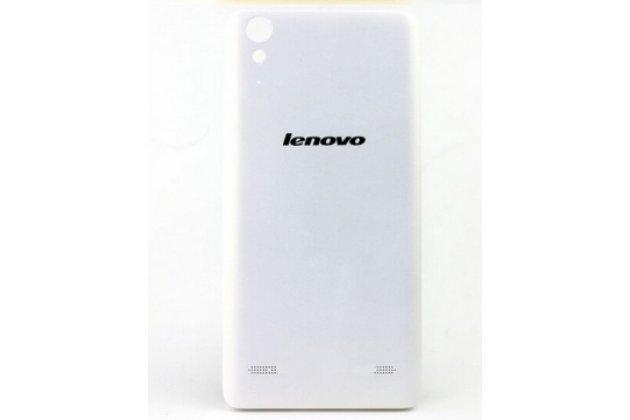 Родная оригинальная задняя крышка-панель которая шла в комплекте для lenovo k3 music lemon / a6000 белая