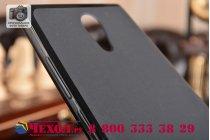 """Ультра-тонкая силиконовая задняя панель-чехол-накладка для lenovo phab 2 pb2-650m 6.4"""" черная"""