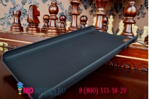 Задняя панель-крышка-накладка из тончайшего и прочного пластика для lenovo a936 черная