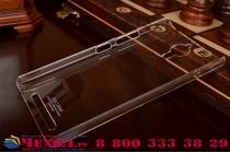 Задняя панель-крышка-накладка из тончайшего и прочного пластика для lenovo k80/p90/p90 pro прозрачная