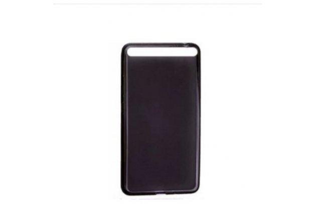 """Ультра-тонкая полимерная из мягкого качественного силикона задняя панель-чехол-накладка для lenovo phab plus pb1-770n/770m 6.8"""" za070019ru черная"""