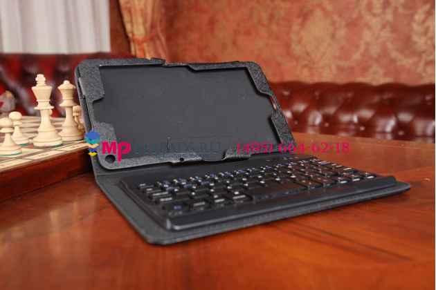 Чехол-клавиатура для lenovo thinkpad 8 черный кожаный + гарантия
