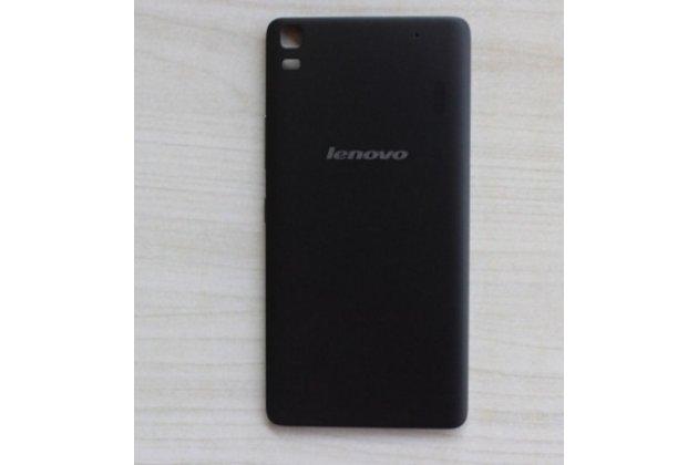 """Родная оригинальная задняя крышка-панель которая шла в комплекте для lenovo k3 note / a7000 5.5"""" черная"""