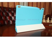 Фирменный чехол-обложка для Lenovo Ideatab S6000/S6000L Smart Case голубой..