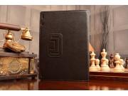 Фирменный чехол-сумка для Lenovo S6000 черный кожаный..