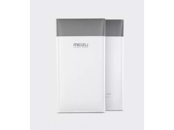 Внешнее портативное зарядное устройство/ аккумулятор meizu m10/ mcharge/ двусторонняя зарядка  10000  mah  бел..