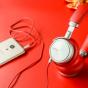 Наушники полуоткрытого типа премиум класса  meizu hd50   для всех моделей телефонов + гарантия