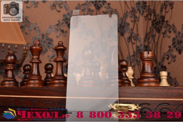 Защитное закалённое противоударное стекло премиум-класса из качественного японского материала с олеофобным покрытием для microsoft lumia 540 / dual sim
