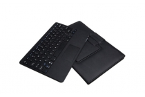 """Фирменный оригинальный чехол со съёмной Bluetooth-клавиатурой с тачпадом для Microsoft Surface Pro 3 12"""" РОЗОВЫЙ кожаный + гарантия"""