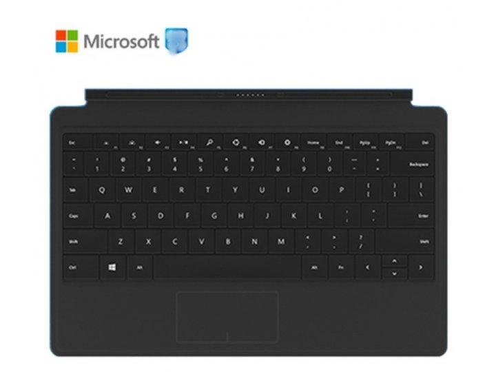 Съемная клавиатура/док-станция/база type cover с магнитным креплением для планшета microsoft surface 1/surface..